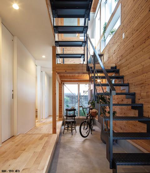 「ウチの内」と「ウチの外」、2つの空間から構成される家 画像3
