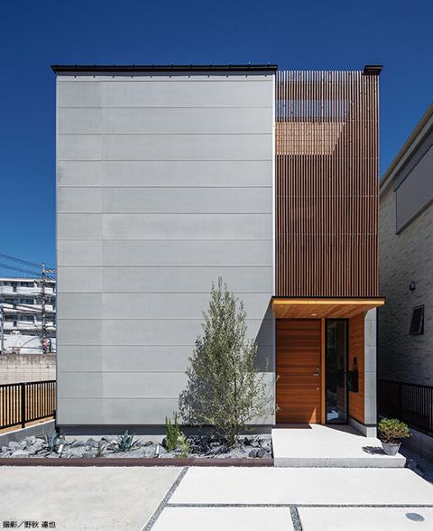 「ウチの内」と「ウチの外」、2つの空間から構成される家 画像2