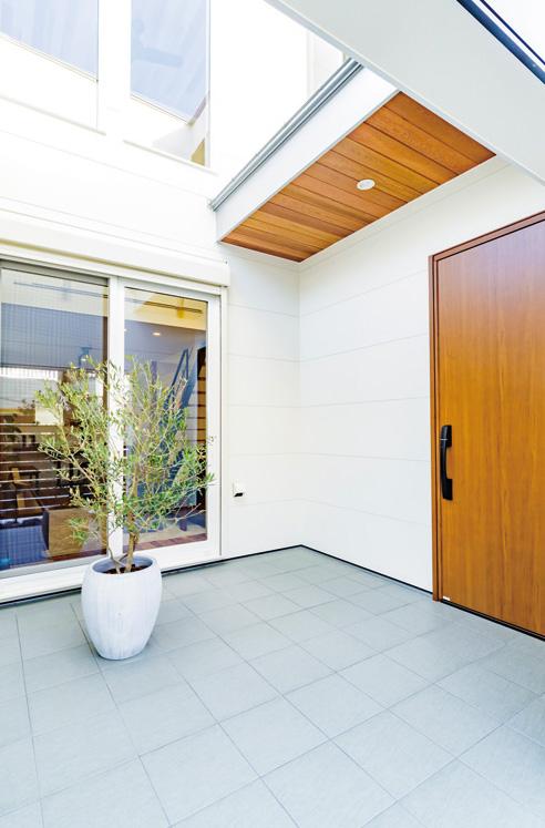プライバシーが守られる光庭の仕掛け 画像2