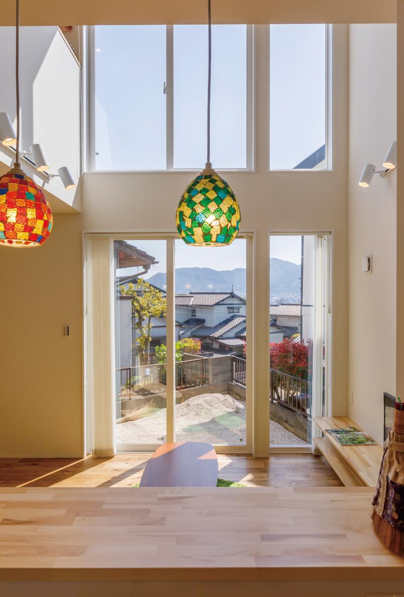 遠景が望めるプライベート空間のある家 画像3