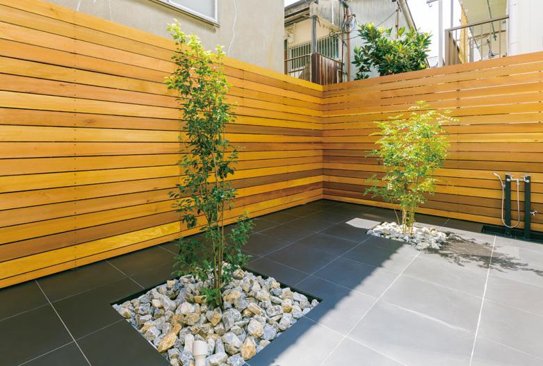 リビングと庭がつながる明るい家 画像3